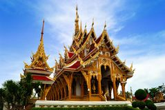 Thai Temple in  khonkane province Stock Image