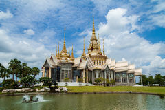 Thai temple in Korat province. Stock Photography