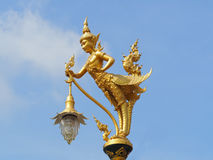 Thai temple lam. P The art and beauty of temples in Thailand Stock Photography