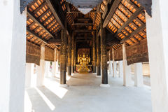 Thai temple in Lampang Stock Images