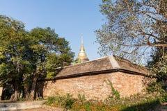 Thai temple in Lampang Stock Image