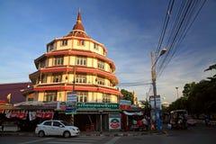 Thai temple landmark in Korat Royalty Free Stock Photo