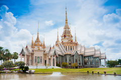 Thai temple landmark in Nakhon Ratchasima, Thailand Royalty Free Stock Image