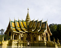 Thai temple Lanna style Royalty Free Stock Image