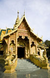 Thai temple Lanna style Royalty Free Stock Photos