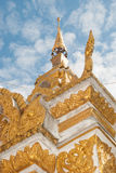 Thai temple. The modern world ri royalty free stock photography