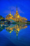 Thai temple in Nakhon Ratchasima Royalty Free Stock Photo