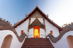 Thai Temple of Nan province ,Thailand Royalty Free Stock Photos