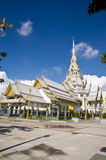 Thai temple and nice blue sky Stock Images