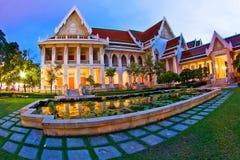 Thai Temple Night Stock Images
