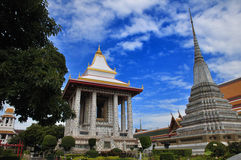 Thai temple and pagoda Stock Photography