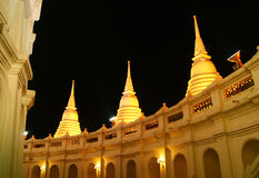 Thai pagoda at thai temple Royalty Free Stock Images