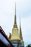 Thai temple pagoda Stock Images