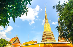 Thai Temple and pagoda Royalty Free Stock Image