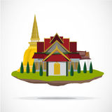Thai temple. palace -  Stock Photos