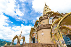Thai temple ,Phasornkaew Temple  in thailand Stock Photo