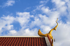 Thai temple roof. Stock Image