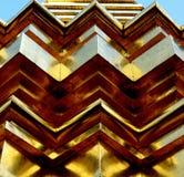 Thai temple roof Stock Photo