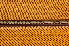 Thai Temple Roof in Northern Style Stock Photos