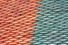 Free Thai Temple Roof Pattern Royalty Free Stock Images - 134667079