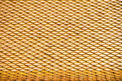 Thai temple roof, Wat Prathatnongbua Stock Photo