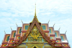 Thai temple at Samut Prakan Royalty Free Stock Image