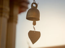 Thai temple small bells. Stock Images