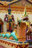 Thai Temple Statues Royalty Free Stock Images