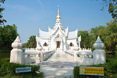 Thai temple style architectur Royalty Free Stock Images