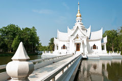 Thai temple style architectur Royalty Free Stock Photography