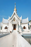 Thai temple style architectur Royalty Free Stock Photo