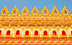 Thai temple style Stock Photography