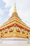 Thai temple style in Khon Kaen Thailand Royalty Free Stock Photography