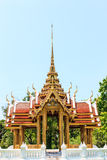 Thai temple on the swamp Royalty Free Stock Photos