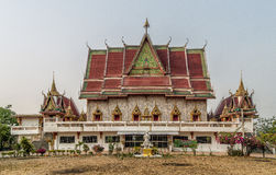 Thai temple in thailand province Tak Royalty Free Stock Photography