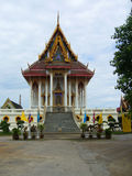 Thai temple. The traditional Thai temple nowadays Stock Image