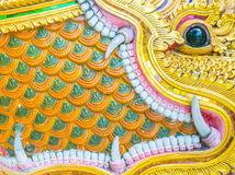 Thai temple wall flower back ground image. Royalty Free Stock Photos