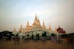 Thai temple wat asokaram Royalty Free Stock Photo