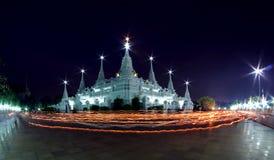 Thai temple wat asokaram Stock Images