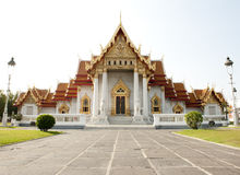 Thai Temple Wat Benjamaborphit Stock Images
