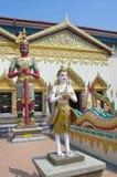 Thai temple Wat Chayamangkalaram in Penang stock photo