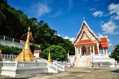 Thai temple. Wat khao chong phran,bat cave,ratchaburi thailand Royalty Free Stock Photo