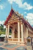 Thai temple. Wat Lang San, Charoen Samanakij Temple Phuket, Thailand. Royalty Free Stock Image