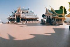 Thai temple is in Wat Pa Phu Kon ,Northeastern of Thailand. Royalty Free Stock Photos