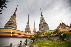 Thai Temple Wat Pho in Bangkok Stock Photos