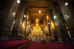 Thai Temple Wat Pho in Bangkok Stock Photo