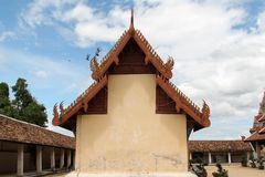 Wat Phra That Lampang Luang, Lampang, Thailand. Thai temple, Wat Phra That Lampang Luang, Lampang, Thailand Royalty Free Stock Images
