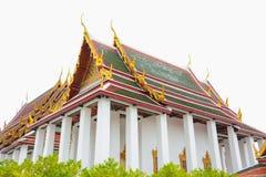 Thai temple in Wat Ratchanadda, Bangkok, Thailand Royalty Free Stock Image