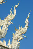 Thai temple, Wat Rong Khun, Chiang Rai, Thailand Stock Photo