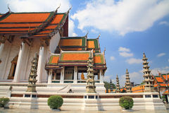 Thai temple of Wat Suthat Royalty Free Stock Image